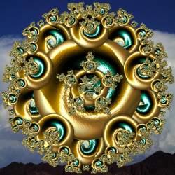 Mystic Golden Mandala