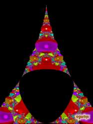 Fractal Christmas tree 2