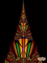 Fractal Christmas tree 3