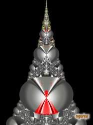 Fractal Christmas tree 6