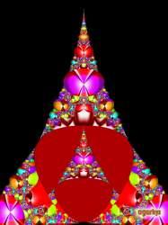 Fractal Christmas tree 7