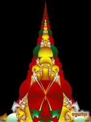 Fractal Christmas tree 11
