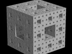 Menger Sponge (method inspired by the Mandelbox)
