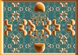 Fractal mosaic