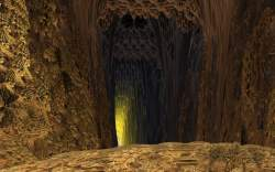 Mandelbulb tunnel