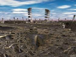 Atomic ruins