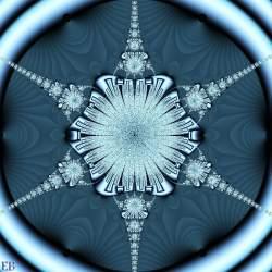 Metallic Snowflake