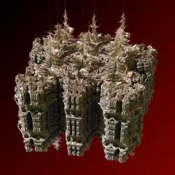 Mandelbulb and Mandelbox mix