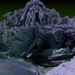 Mandelbulb surface