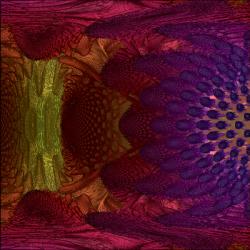 Mandelbulb (iter*8)*angle closeup