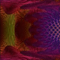 Mandelbulb 4*2^iter closeup