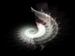 3d flame spiral