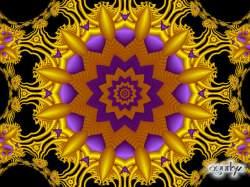 Serie estrellas -Radial en oro-