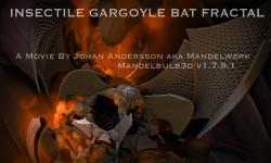 Insectile Gargoyle Bat Fractal