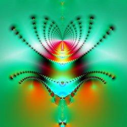 A fractal spider