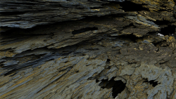 Surface 02 - While exploring coastal shales, I discoverd a gold vein
