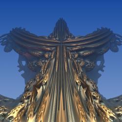 Raw Fractal Cosmic Symbol ( 100% pure fractal )