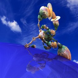The Copper plated Ant of Greed