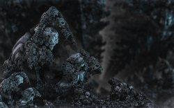 Dark minerals