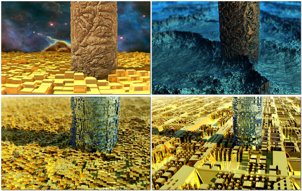 Welcome to Fractal Forums - Height Map experiments
