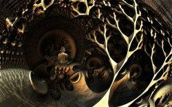 Bouddha boudant l'arbre de la bodhi
