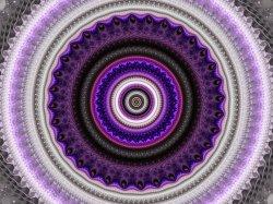 Mandelbrot Safari LVIII: Purple Vortex Jungle