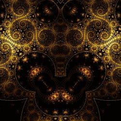 Golden Helix Fractal