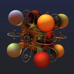 Rubik's Spheres And Hoops