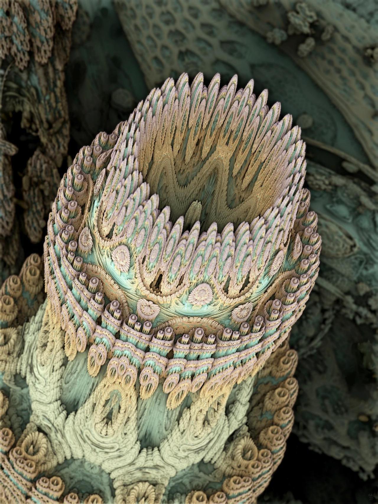 Beispielbild Mandelbulb 3D Microtubulus