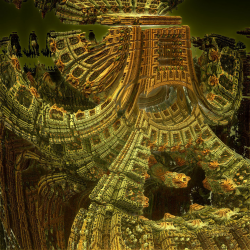 Fractal architecture in n-dimensional space