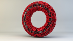 Mandelbulb 3D Model Undead-Academy Torus