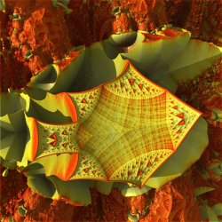 Non NASA Mars Image - Fractal Fish Fossil Found