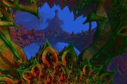 Non NASA Mars Image - Swamp Things