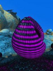 Non NASA Mars Image - Purple Kwurl