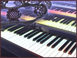 Mandelbulb Plays Piano?
