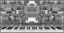BX3000 Steam Punk Organ