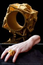 Cosmographicum Fractalium - The 3D printed Ring