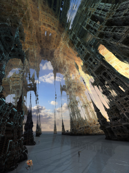 Basilica of Holographic Projections