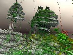 Complex landscape