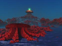 Non NASA Mars Image - Fungal Lighthouse