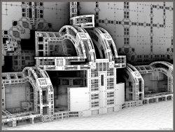 Contoured Menger Construction