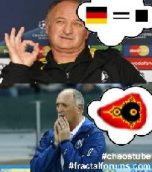 Scolari - Expectation <-> Reality #WorldCup #BrazilvsGermany