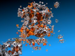 The Artist as a Flaky Menger