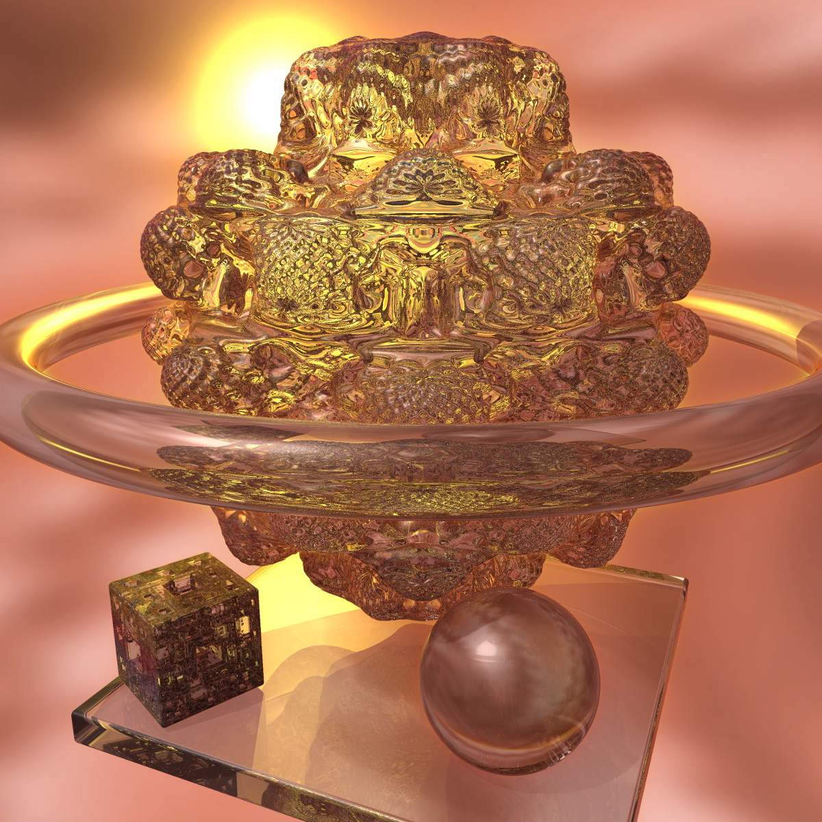 Welcome to Fractal Forums - Mandelbulb made of glass