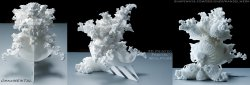 OrnaMENTAL 3D printed Fractal Sculpture - HIGH RES IMAGE