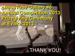 gallery #6 - 6th Annual Fractal Art Competition  Prizegiving at Evoke 2013
