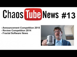 chaosTube - news #13 - Compo2015 Announcement - Compo 2014 Review - Fractal Software