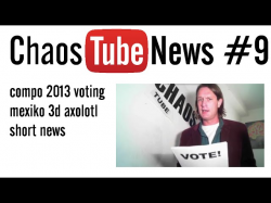 news #9 - compo voting period, mexiko, 3d axolotl, short news