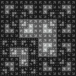 IFS fractal square