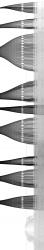 Double pendulum bifurcation zoom